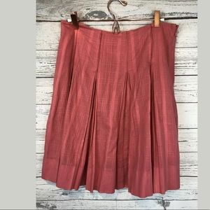 Martin + osa size 6 skirt rose pink pleated